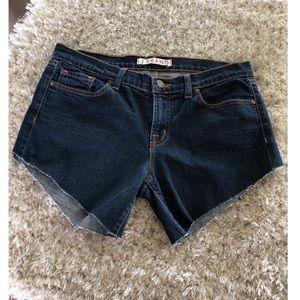J Brand Cut Off Denim Shorts Size 31